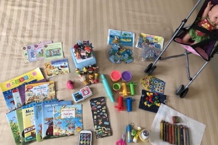 Die Reisepackliste für Kinder