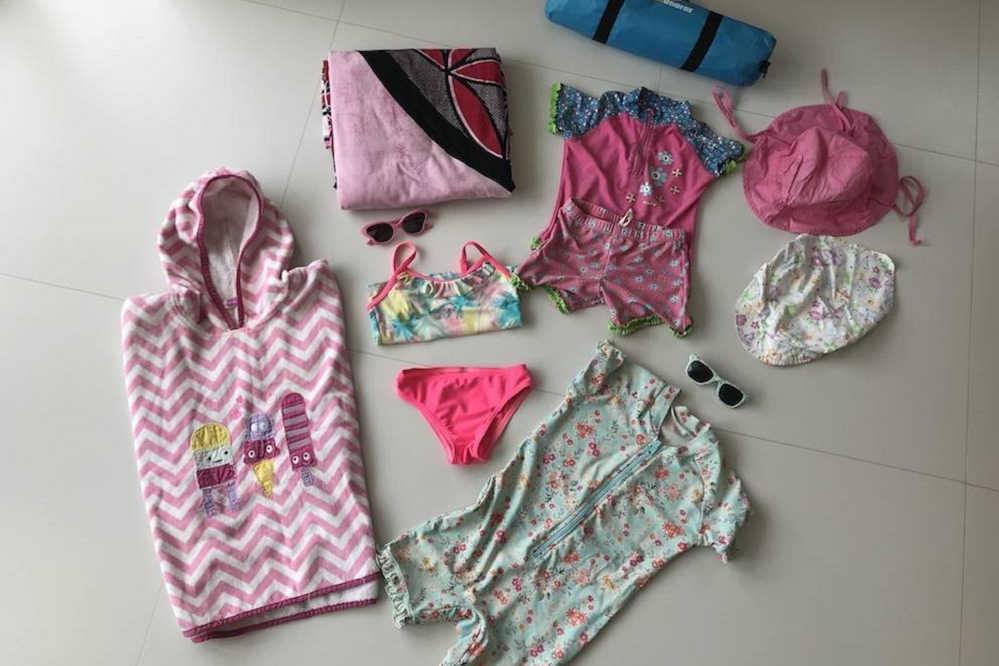 Kinder Strandbekleidung