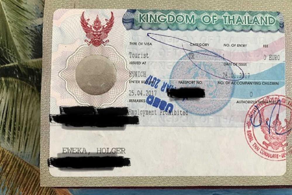 Visa im Pass