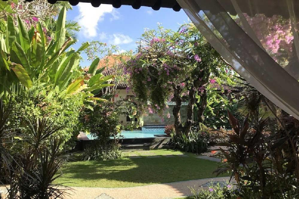 Hotel in Sanur auf Bali.
