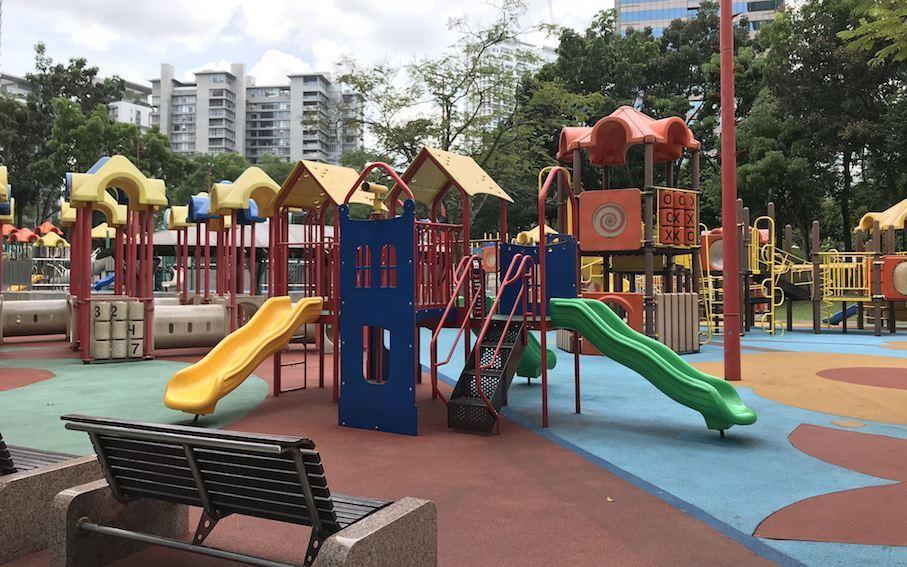 Spielplatz in Kuala Lumpur