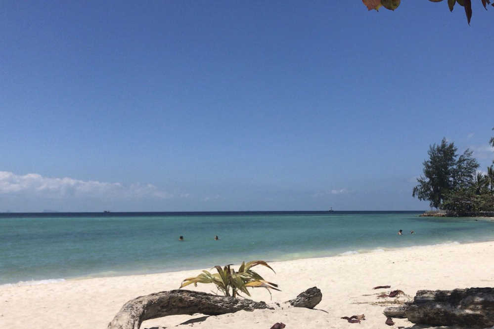 Srithanu Beach