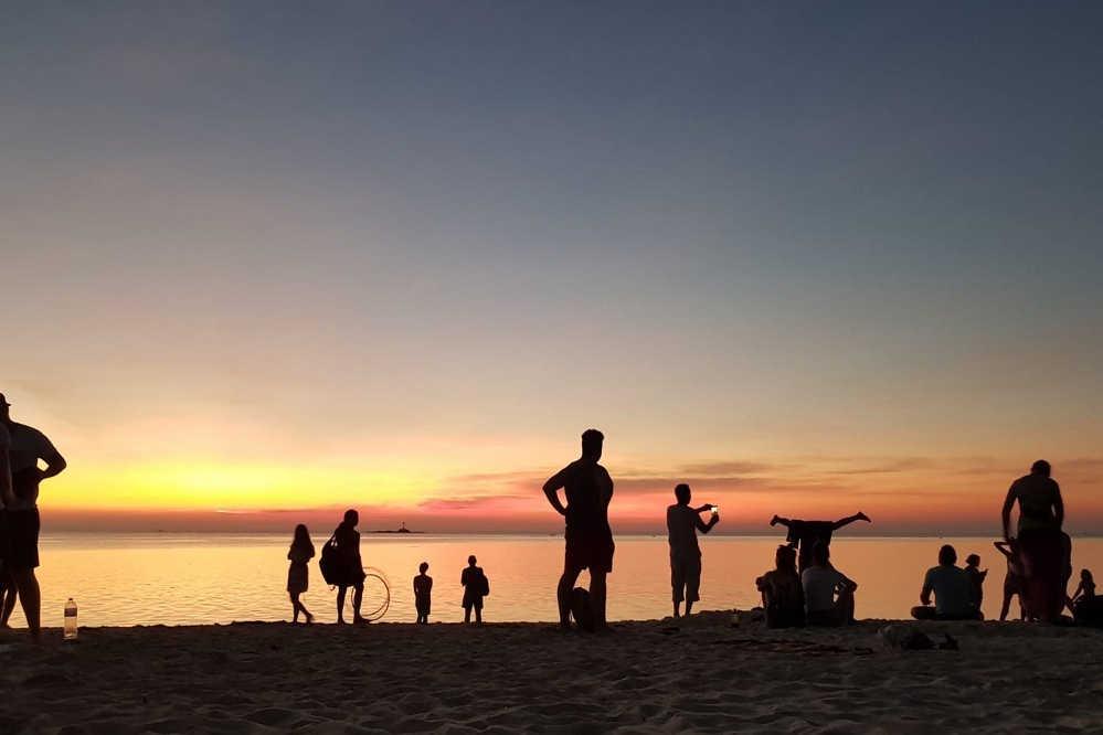 Abend am Zen Beach